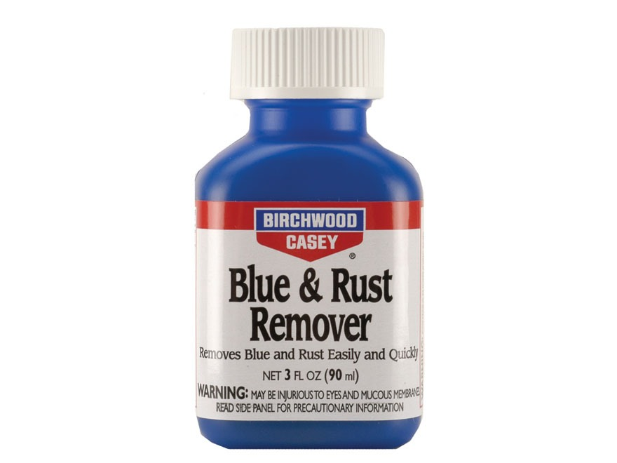 Birchwood Casey Blue and Rust Remover 3 oz Liquid