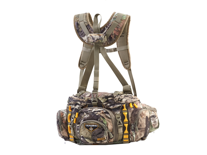 Tenzing TZ 1250 Lumbar Backpack Polyester and Dyneema Mossy Oak Break Up Country Camo