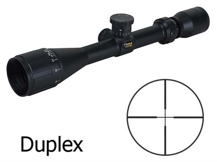 BSA Sweet 22 Rimfire Rifle Scope 3-9x 40mm Adjustable Objective Duplex Reticle Matte