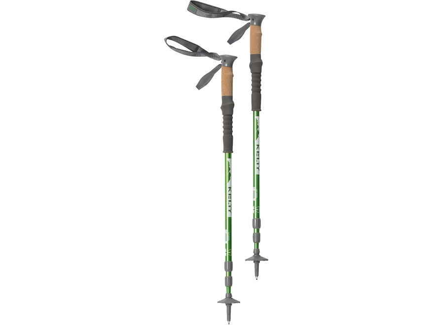 Kelty Range 2.0 Trekking Pole Aluminum Green Pack of 2