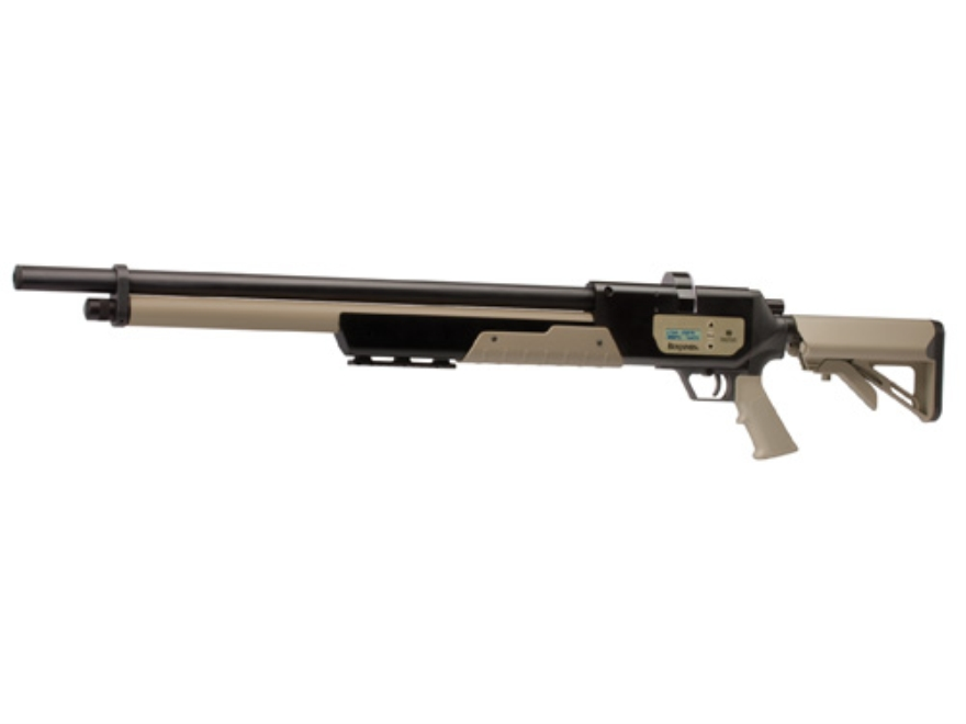 Benjamin Rogue Electronic PCP Air Rifle 357 Caliber Tan Synthetic Stock Matte Barrel