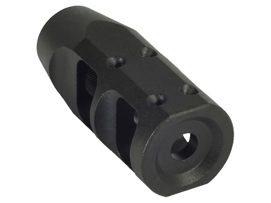 "JP Enterprises Standard Compensator Muzzle Brake 223 caliber 1/2""-28 Thread .925"" Outsi..."