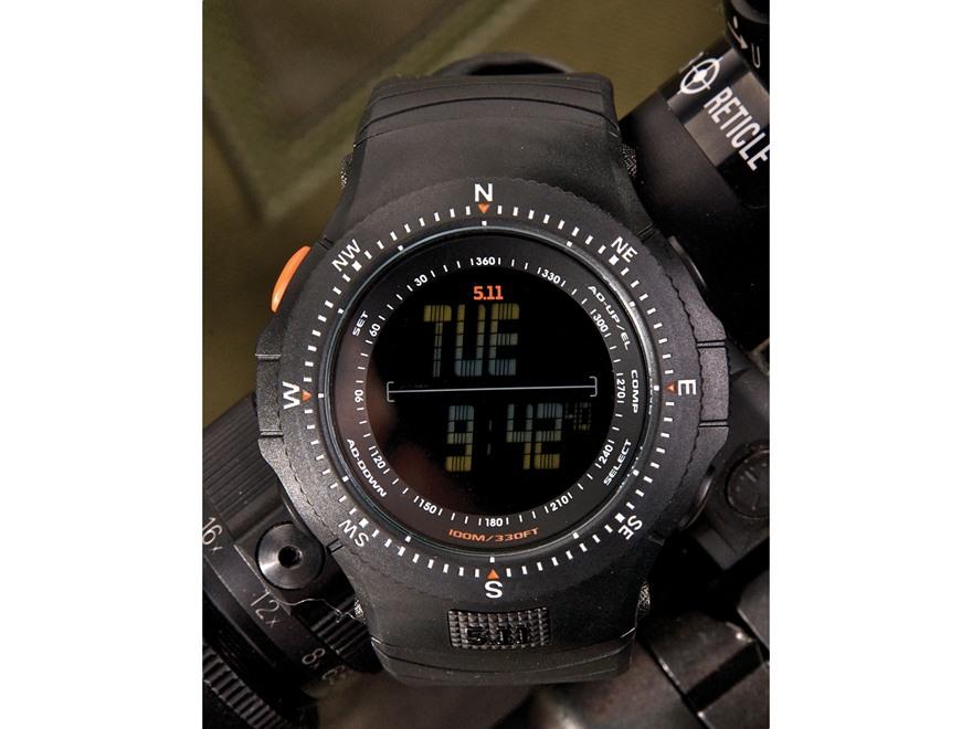 5.11 Field Ops Watch Ballistic Calculator Black