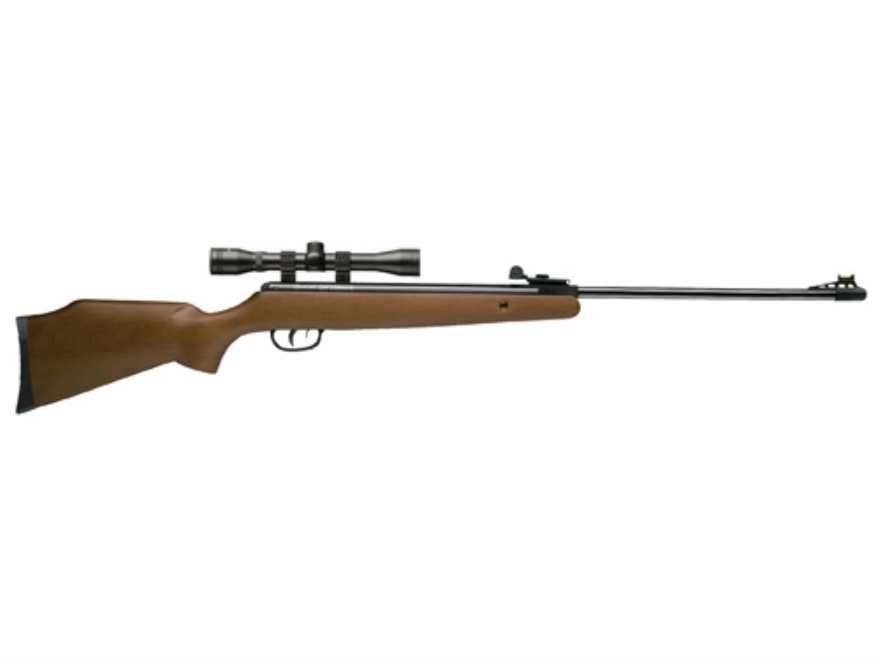 Crosman Optimus Air Rifle 177 Caliber Hardwood Stock Blue Barrel