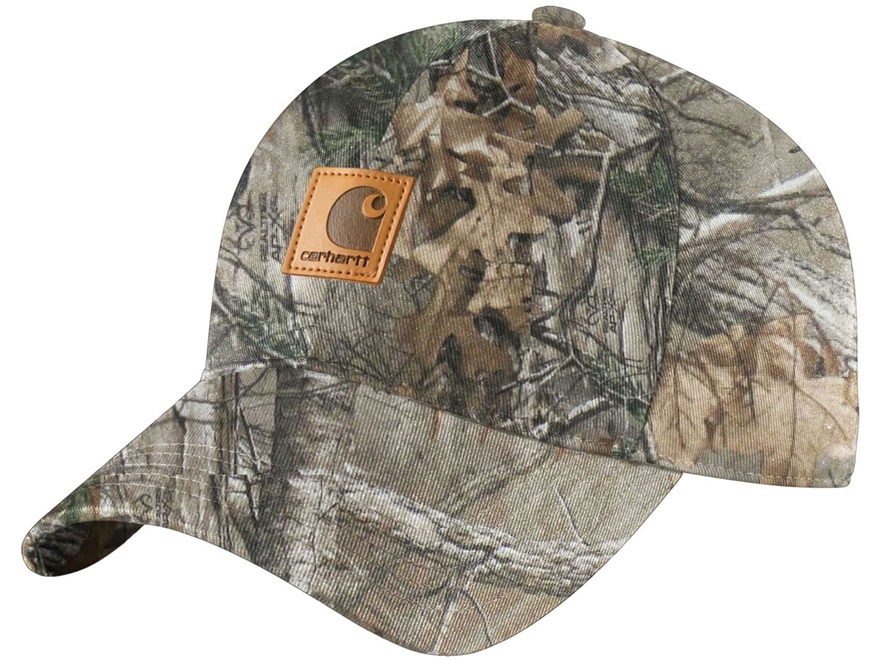 Carhartt Men's Camo Cap Cotton Realtree Xtra