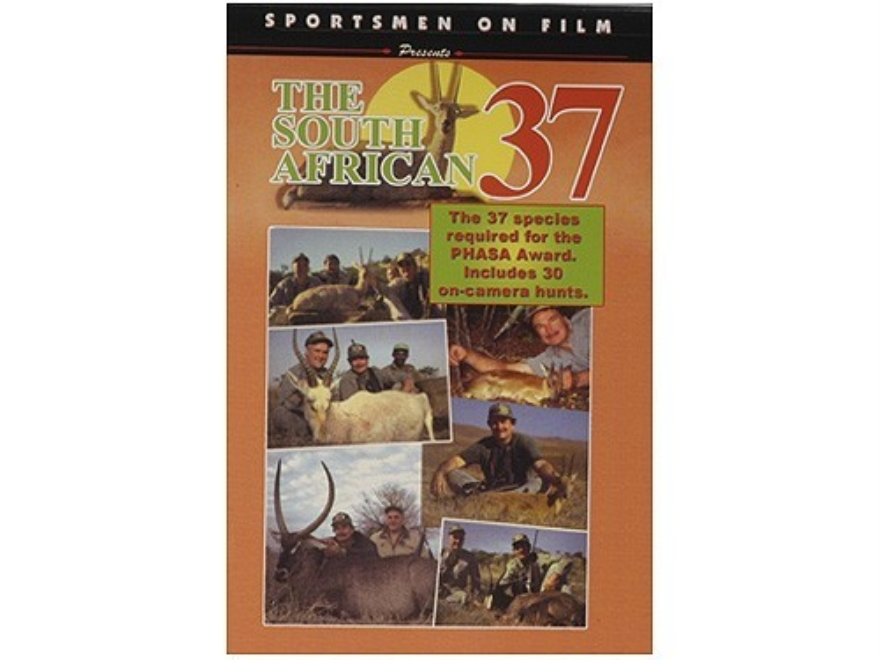 "Sportsmen on Film Video ""The South African 37"" DVD"