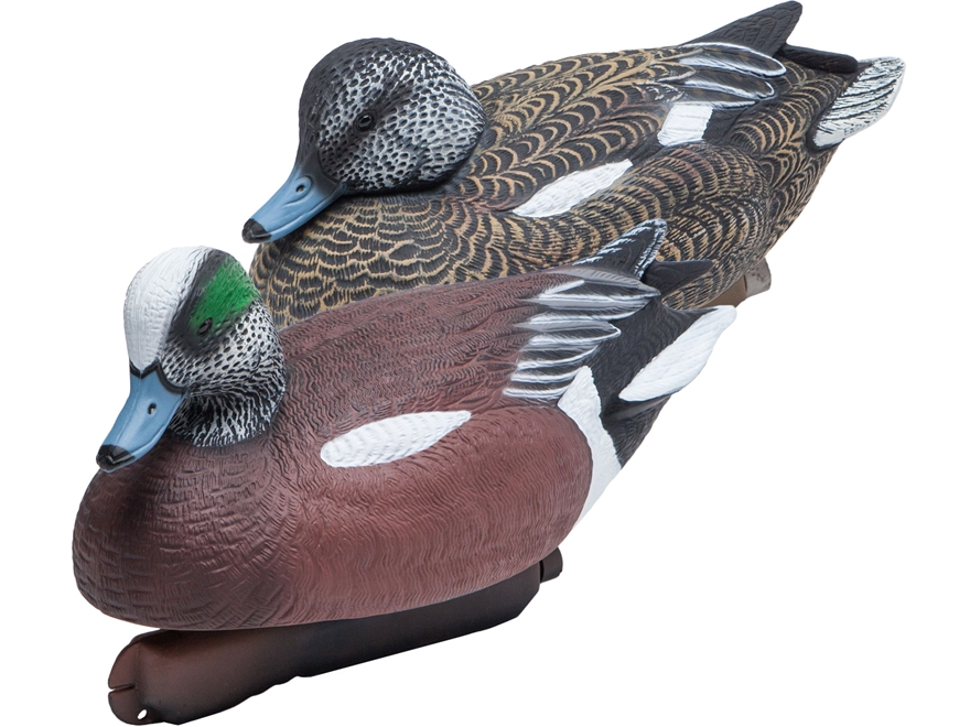 Final Approach Gunner HD Wigeon Duck Decoy Pack of 6