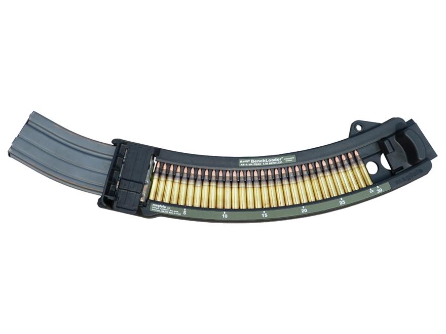 Maglula Magazine Loader BenchLoader AR-15 PMAG, USGI, HK 416, SA-80 30 Round Magazine