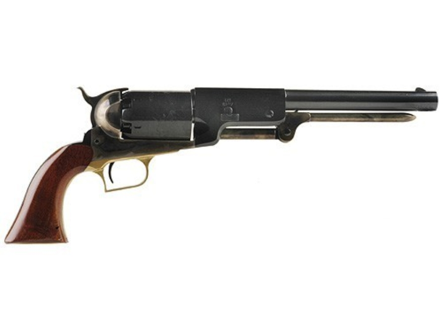 "Uberti 1847 Walker Black Powder Revolver 44 Caliber 9"" Barrel Steel Frame Blue"