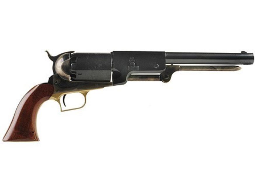 "Uberti 1847 Walker Black Powder Revolver 44 Caliber 9"" Barrel Steel Frame Blue"