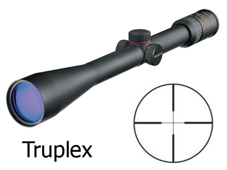 Simmons Master Series ProHunter Rifle Scope 6-18x 40mm Side Focus Truplex Reticle Matte