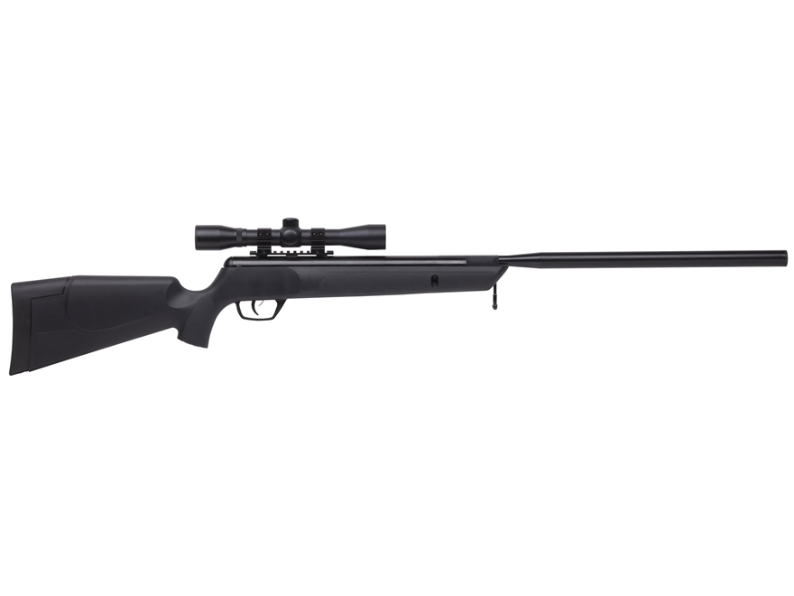 Benjamin Summit Nitro Piston 2 Air Rifle Pellet Black Synthetic Stock Black Barrel with...