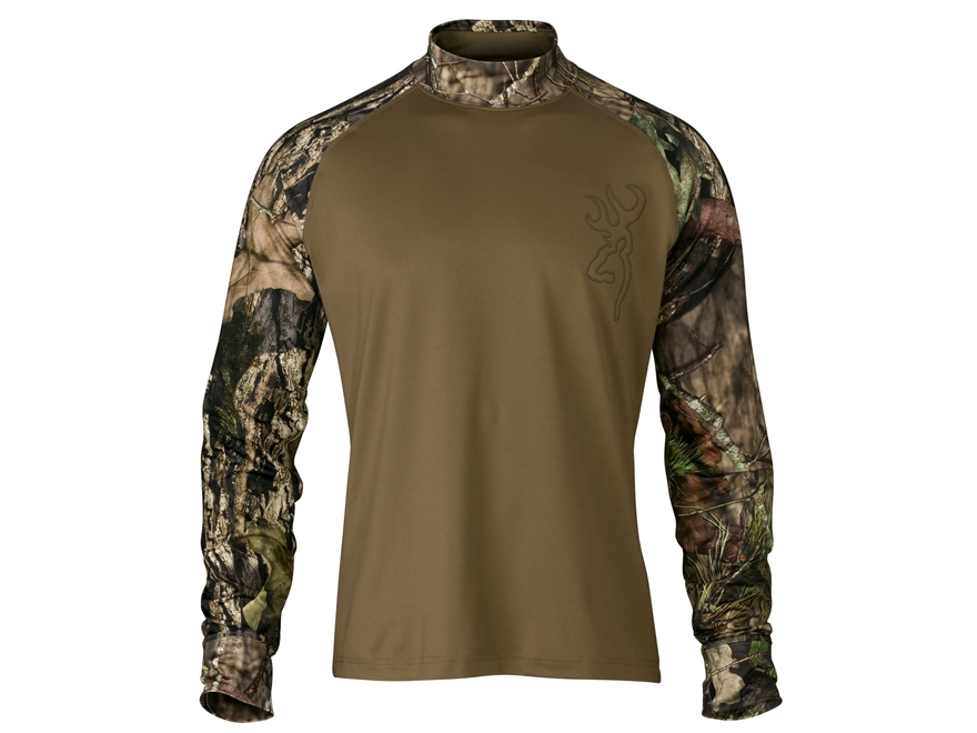 Browning Men's Hell's Canyon Riser Base Layer Shirt Long Sleeve Polyester