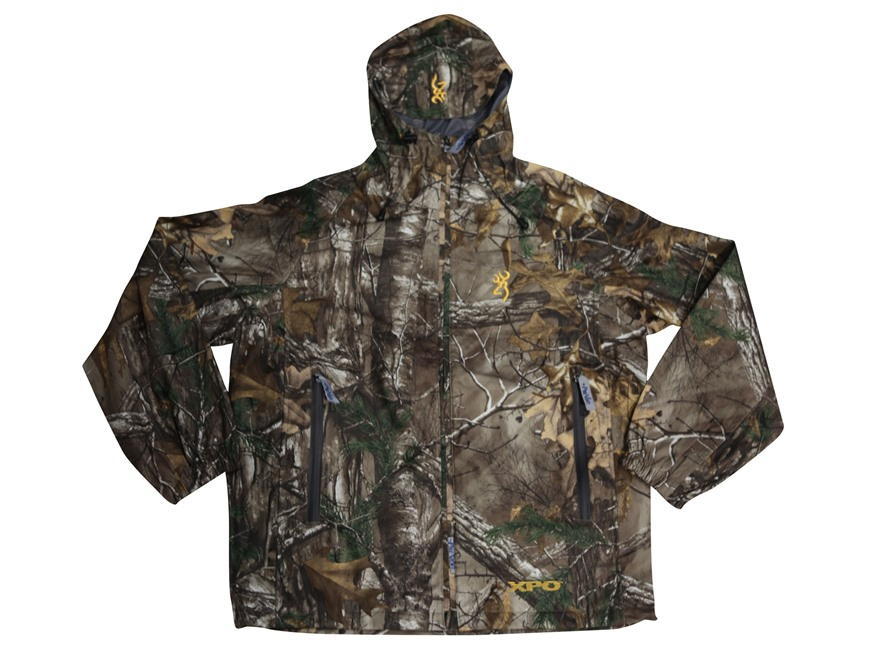 Browning Men's XPO Pac Rain Jacket