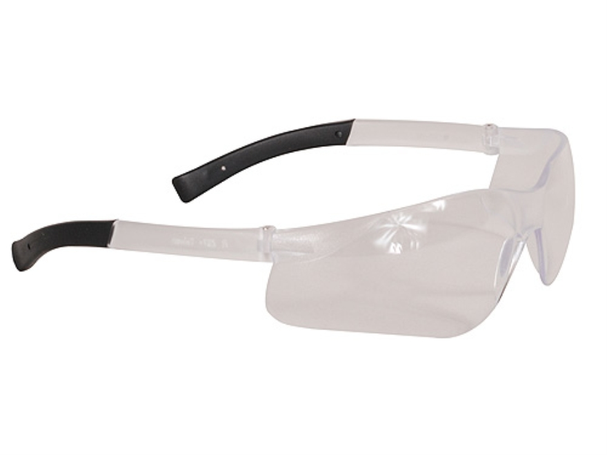 radians small shooting safety glasses clear lens frame