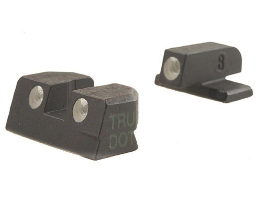 Meprolight Tru-Dot Sight Set Sig P220, P225, P226, P228 Steel Blue Tritium Green Front