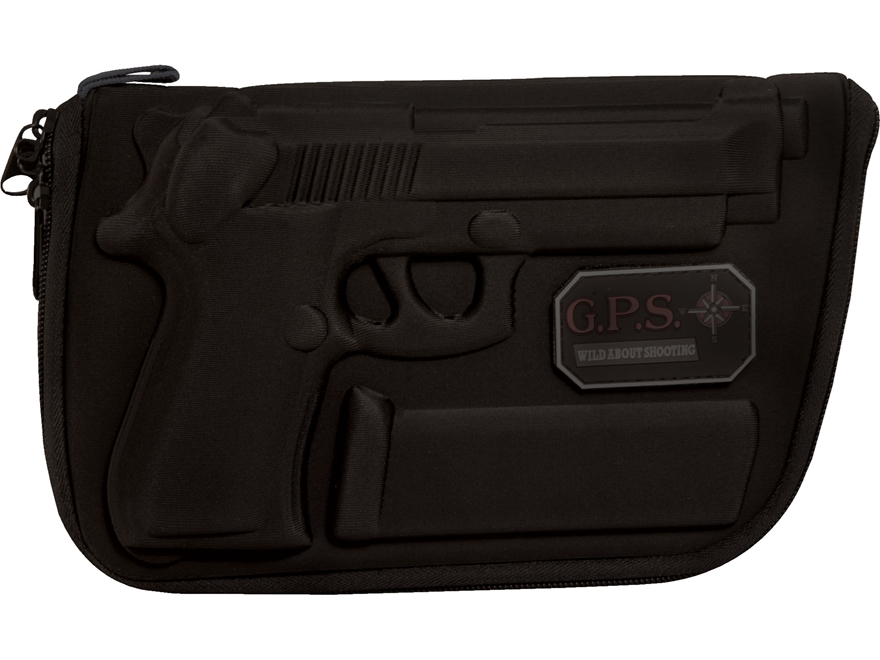 G.P.S. Custom Molded Pistol Case Beretta 92, 96 Black