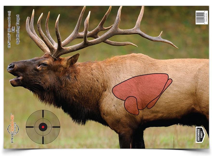 "Birchwood Casey PREGAME 16-1/2"" x 24"" Elk Target Pack of 3"