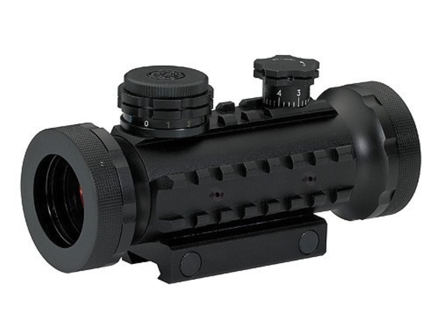BSA Stealth Tactical Red Dot Sight 1x 30mm 5 MOA Red Dot Matte