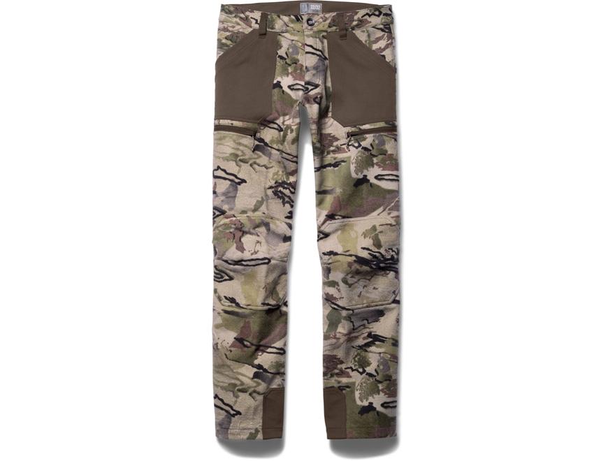 Under Armour Men's UA Ridge Reaper 13 Pants Acrylic and Wool Ridge Reaper Barren Camo