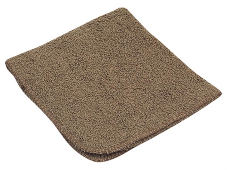 "5ive Star Gear Mil Spec Washcloth 100% Cotton 12"" x 12"" Brown"