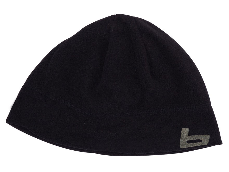 Banded Fleece Beanie Polyester Black