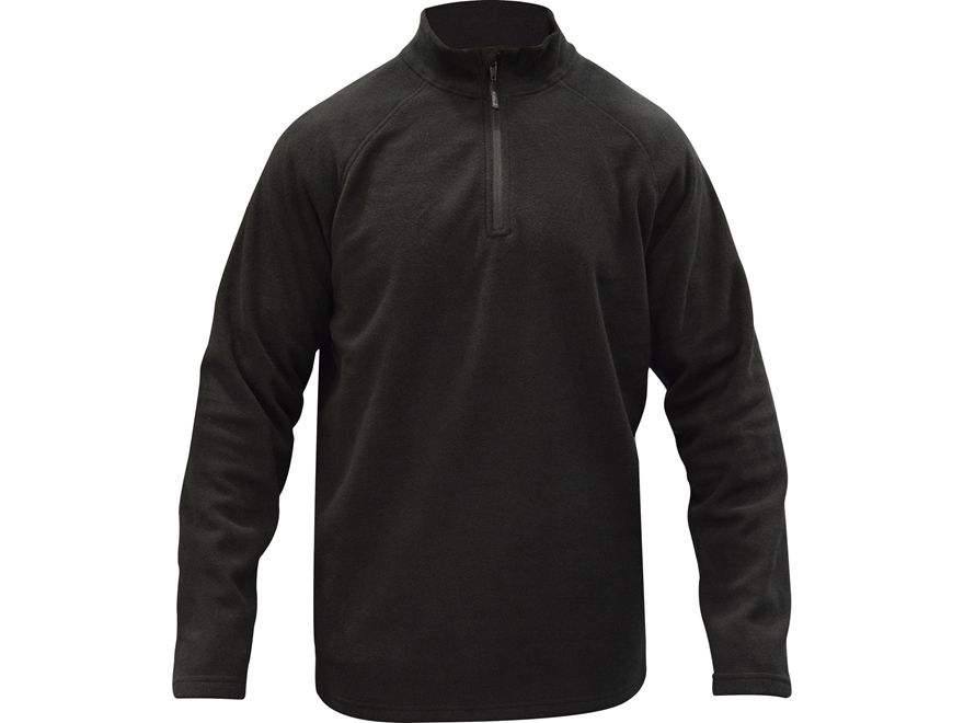 MidwayUSA Men's Level Three 1/4 Zip Long Sleeve Base Layer Shirt