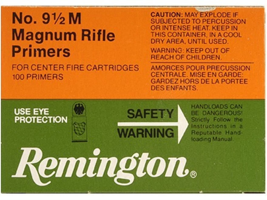 Remington Large Rifle Magnum Primers #9-1/2M