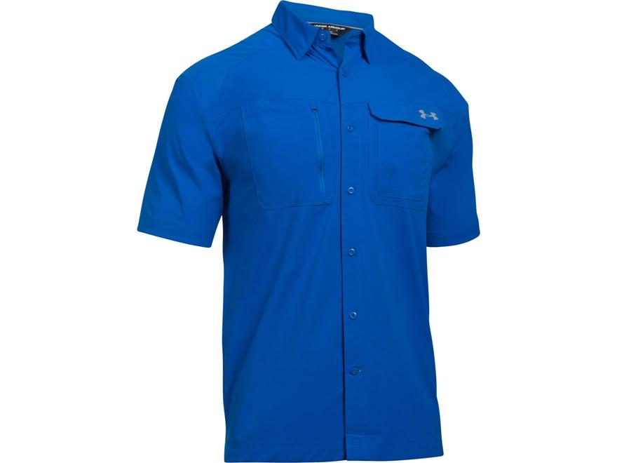 Under armour men 39 s ua fish hunter button up shirt upc for Under armour fish hunter shirt