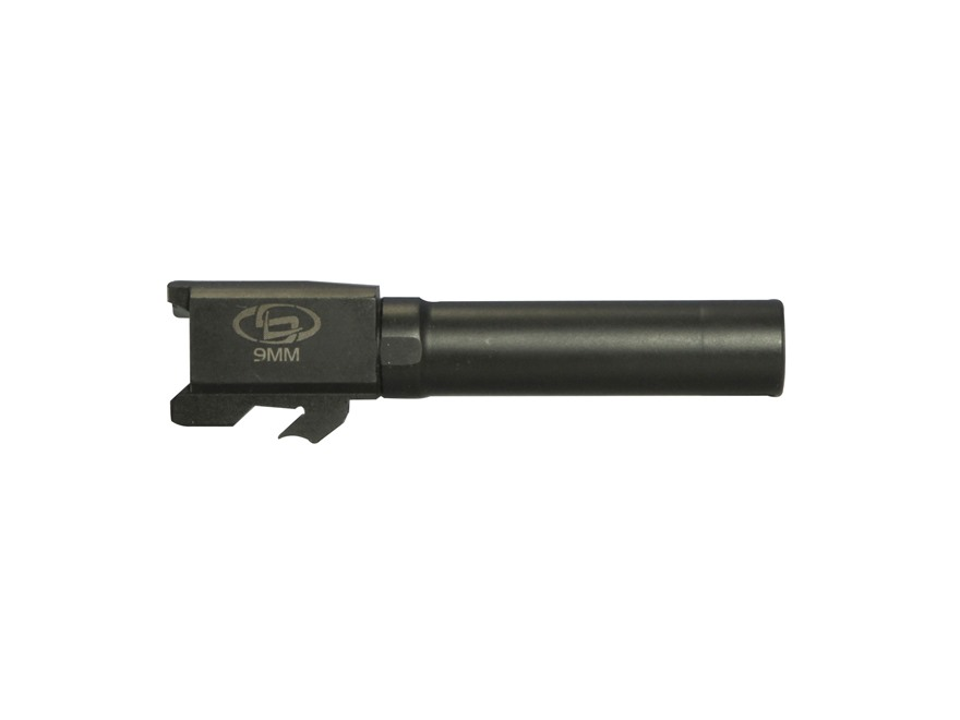 "Storm Lake Barrel S&W M&P Compact 40 S&W to 9mm Luger Conversion 1 in 16"" Twist 3.58"" S..."