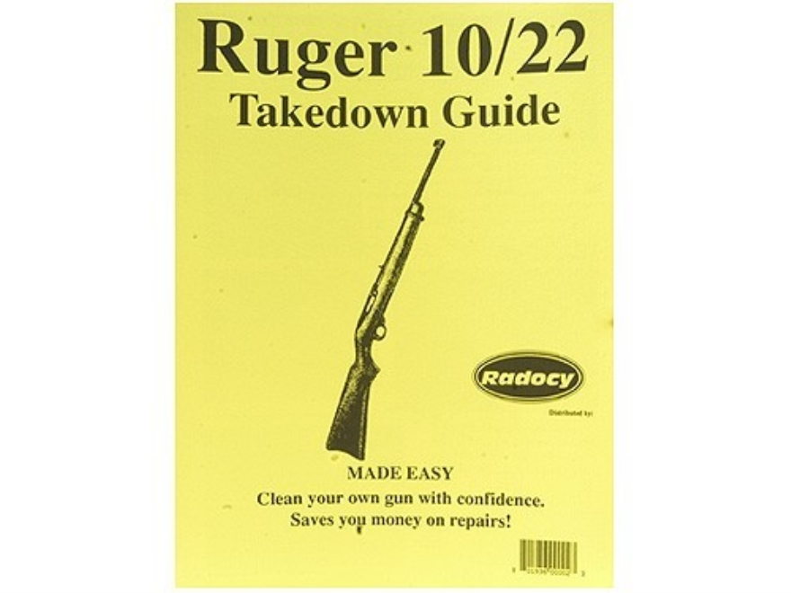 "Radocy Takedown Guide ""Ruger 10/22"""
