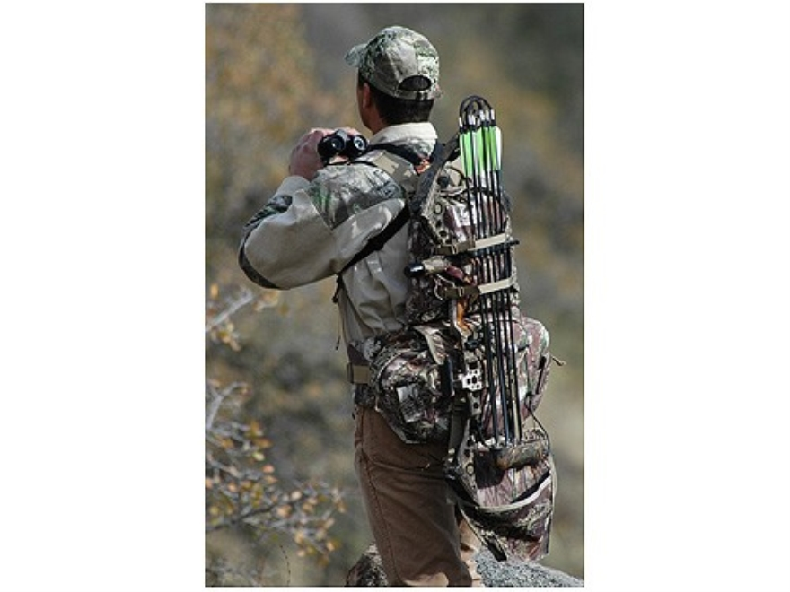Crooked Horn Trailblazer 2 Backpack Polyester Realtree Max-1 Camo