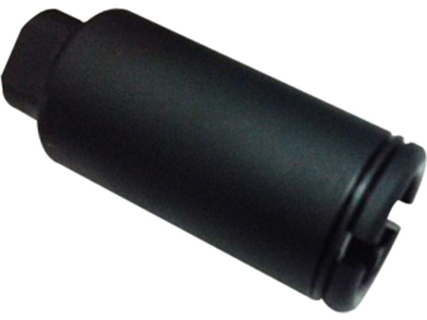 "KAK Flash Can Flash Hider 1/2""-28 5.56mm Aluminum Matte"