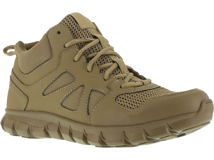 "Reebok Sublite Cushion 4"" Tactical Shoes Leather/Nylon"