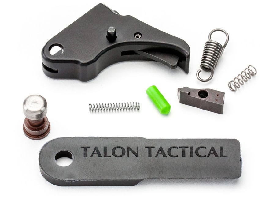 Apex Tactical Action Enhancement Trigger Kit S&W M&P Shield 9mm, 40 S&W Aluminum Black