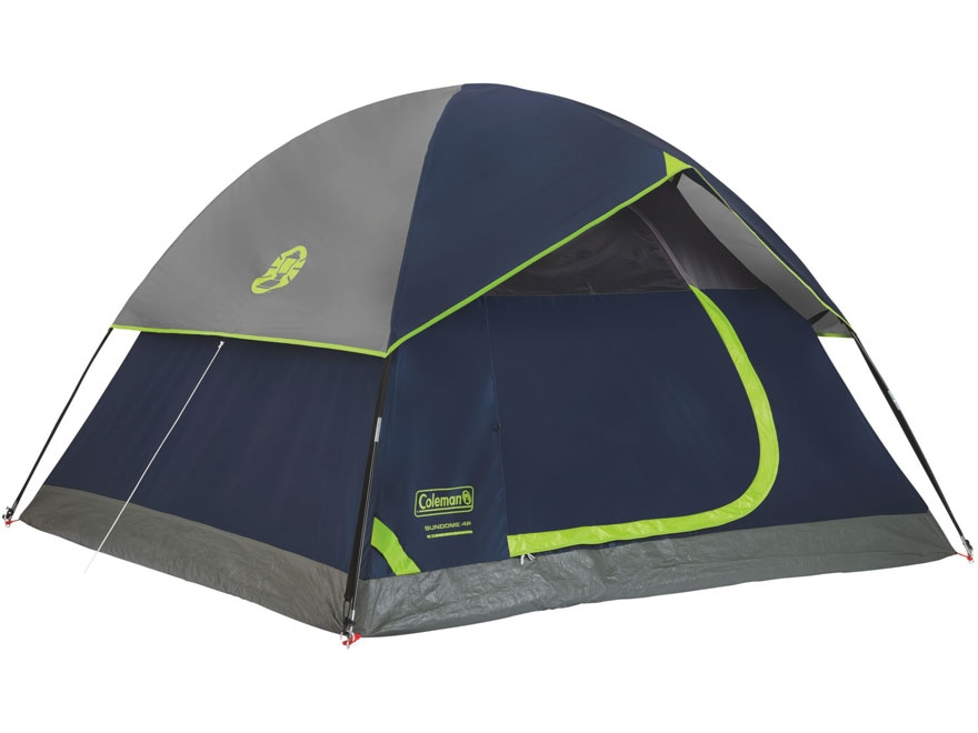 Coleman Sundome 4 Man Dome Tent 84  x 108  x 59  Polyester Navy  sc 1 st  MidwayUSA & Coleman Sundome 4 Man Dome Tent 84 x 108 x 59 - MPN: 2000024582