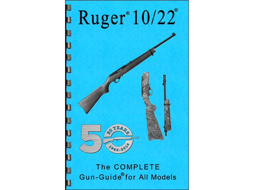 """Gun Guides Takedown Guide """"Complete Guide: Ruger 10/22"""" Book"""