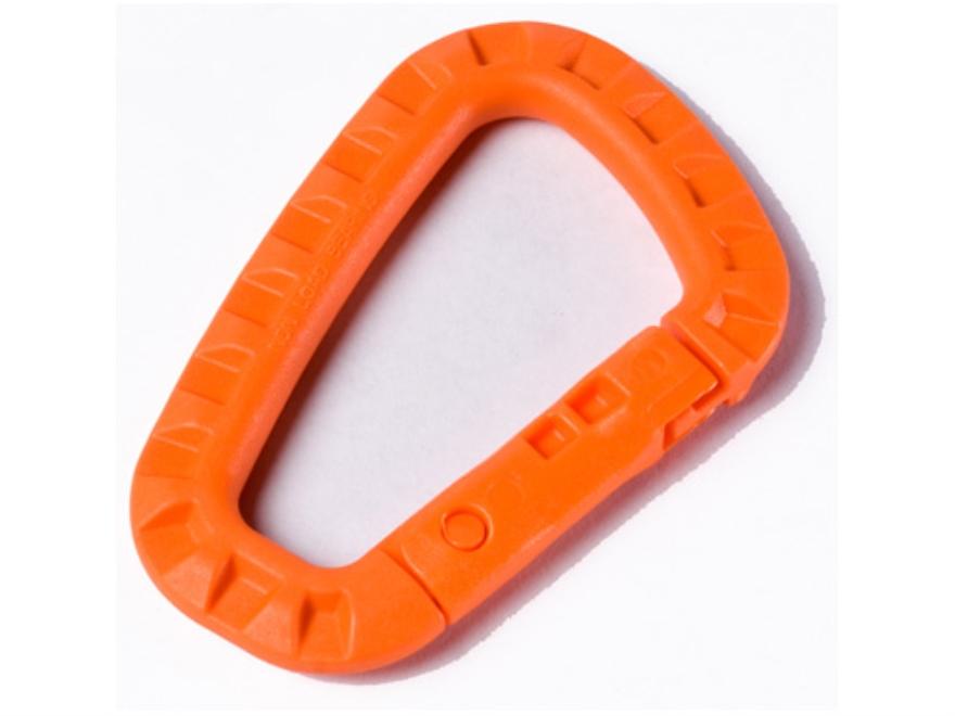 ITW Tac Link Carabiner Polymer Hi-Viz Orange