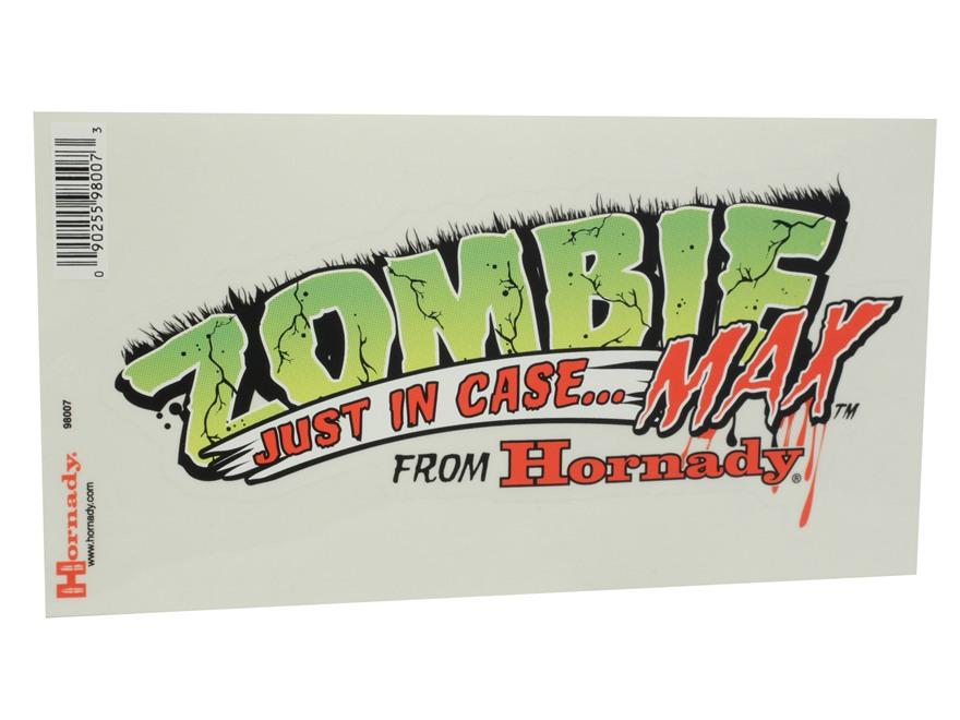 Hornady Zombie Decal