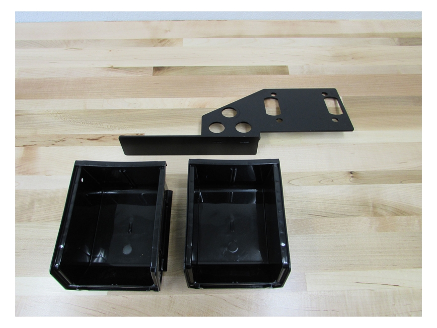 Inline Fabrication Sidebin System for Redding T-7 Turret Press with Black Bullet Trays