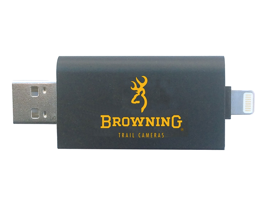 Browning Game Camera SD Card Reader for IOS Devices