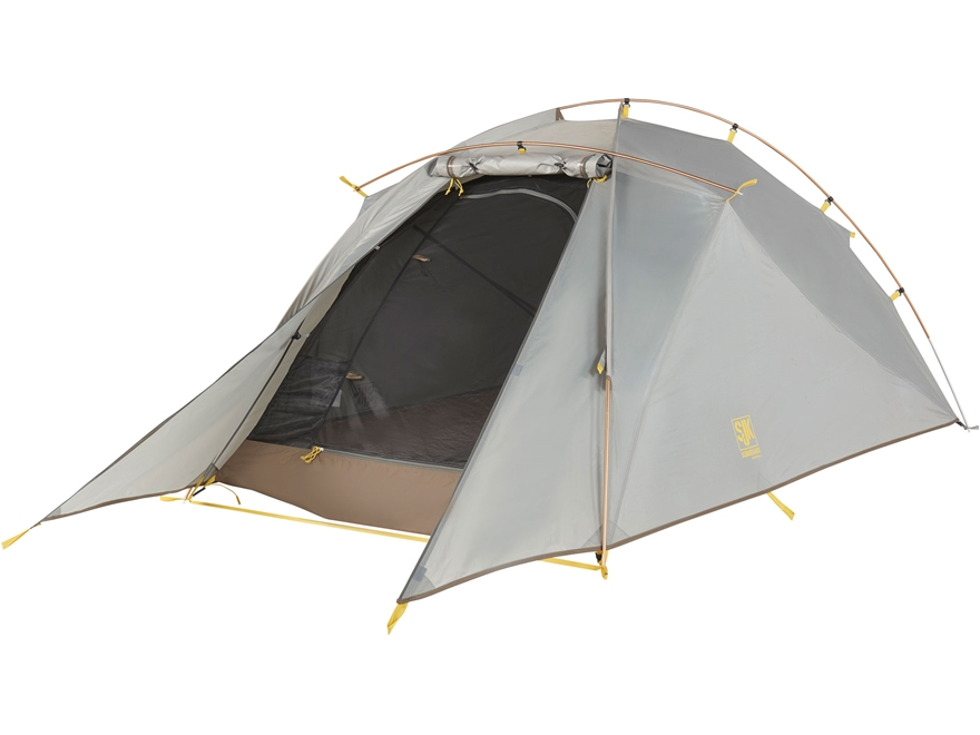 "Slumberjack Nightfall 2 Person Dome Tent 86"" x 52.5"" x 39.5"" Polyester Gray"
