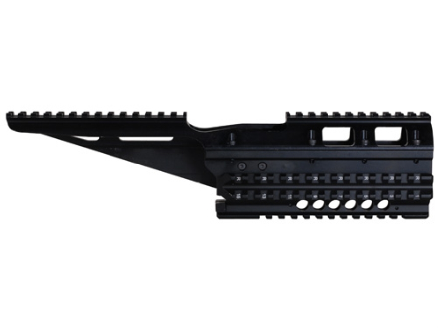FAB Defense VFR 2-Piece Handguard Quad Rail AK-47 AK-74 Aluminum Black