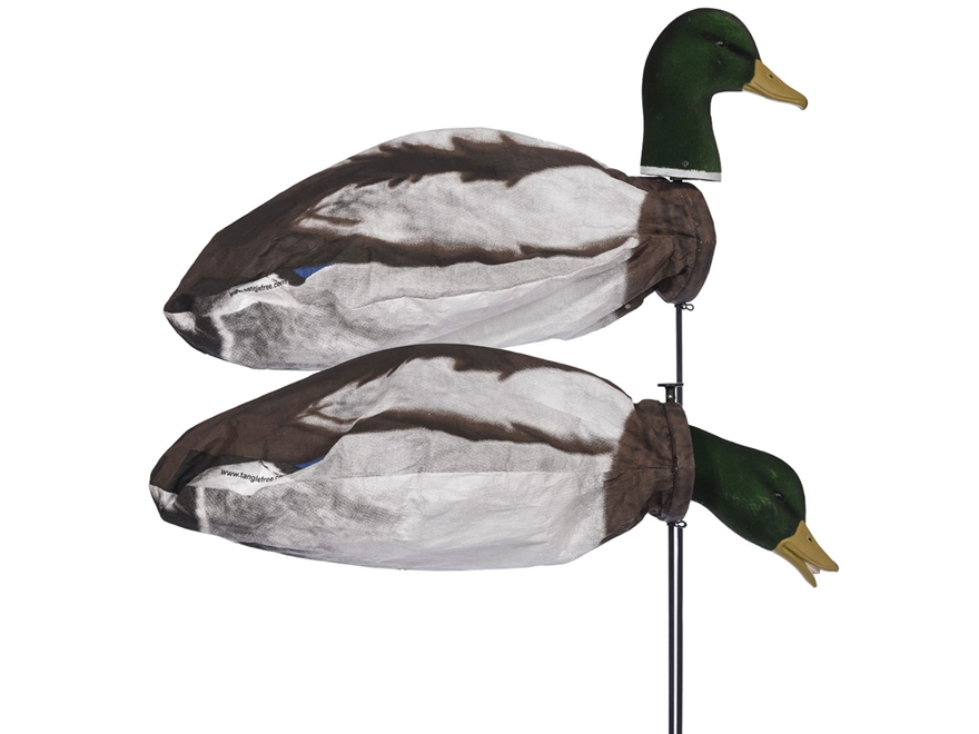 Tanglefree Slammer Socks Mallard Drake Duck Decoy Pack of 12