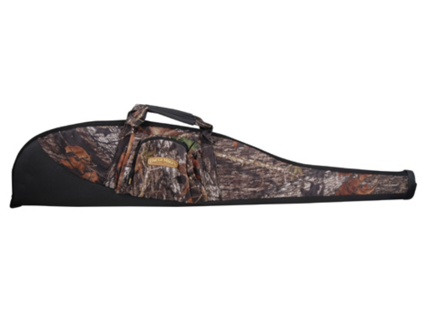 "Uncle Mike's Rhino All Purpose Gun Case 50"" 600D Polyester Mossy Oak Break-Up Camo and ..."