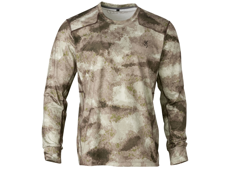 Browning Men's Hell's Canyon Speed Scent Control Plexus Mesh Shirt Long Sleeve Polyester