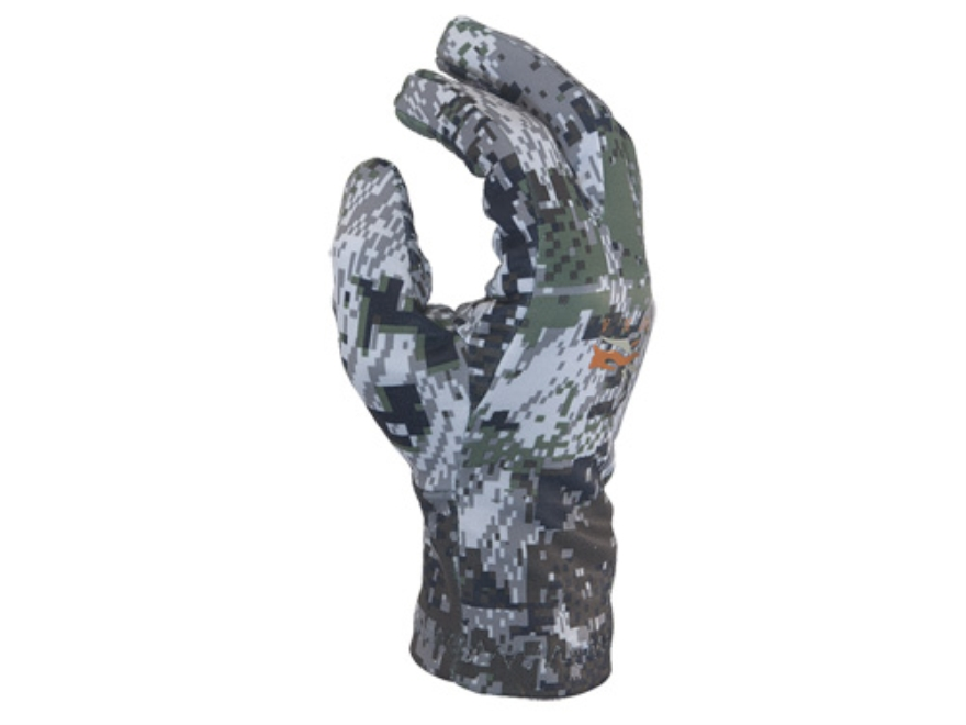 Sitka Gear Traverse Midweight Scent Control  Gloves Polyester Gore Optifade Elevated Fo...