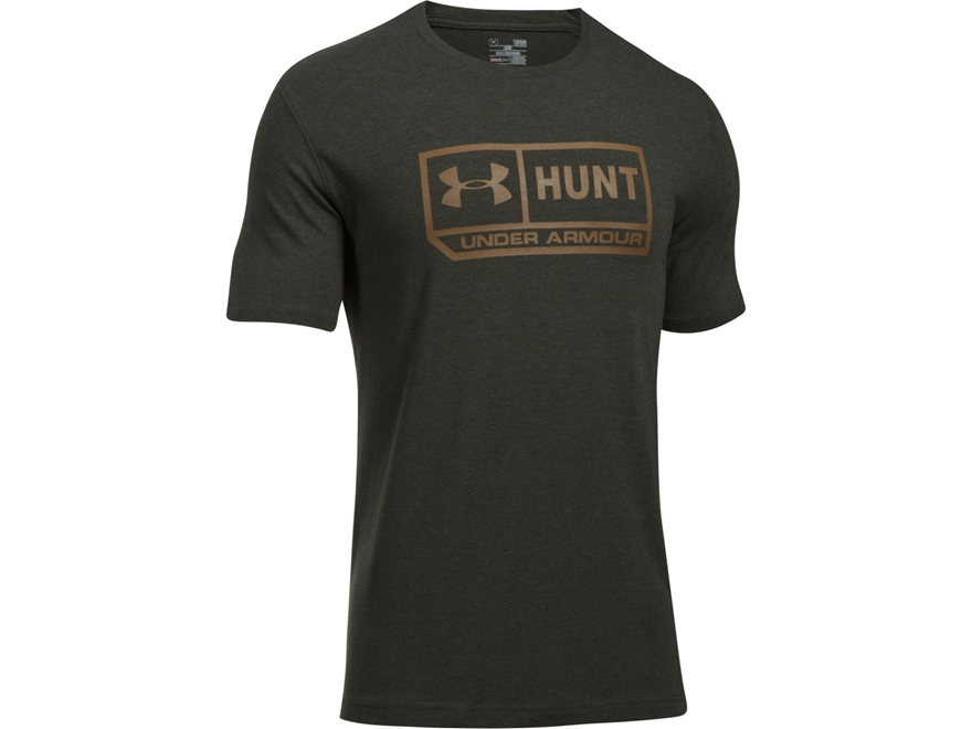 Under Armour Men's UA Hunt T-Shirt Short Sleeve Charged Cotton