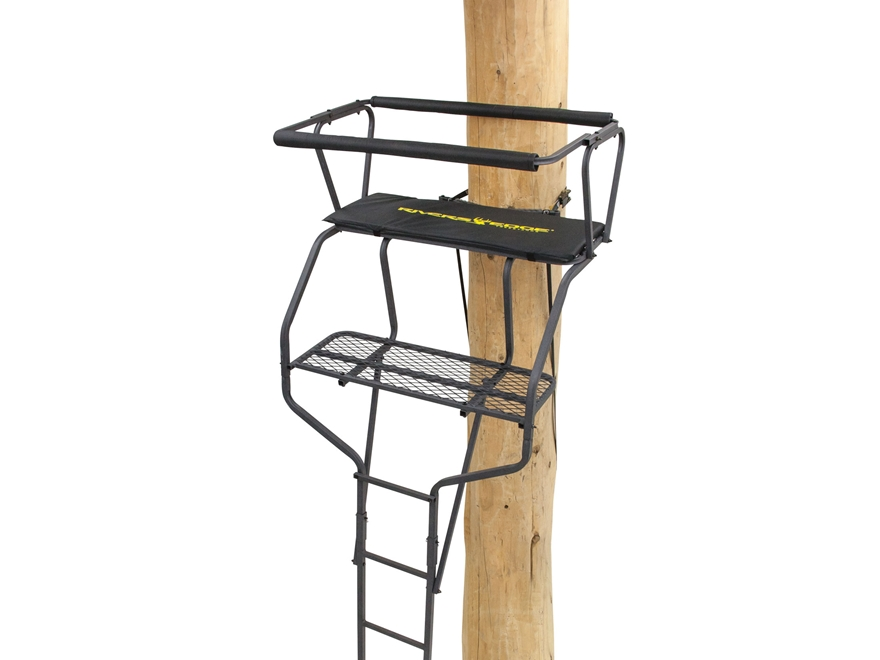 Rivers Edge Standard 2-Man Ladder Treestand Steel Gray