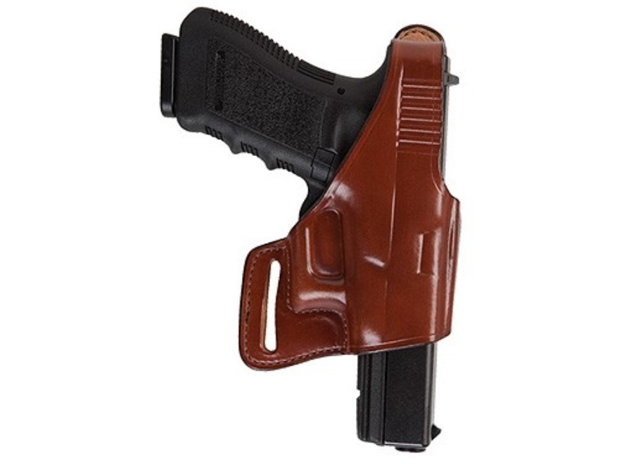 Bianchi 75 Venom Belt Holster Right Hand S&W M&P 9mm Luger, 40 S&W Leather Tan